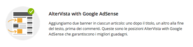 Altervista With Google AdSense