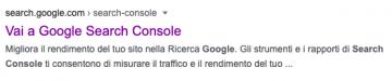 link aper accedere a Google Search Console