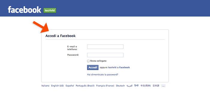 accedi-facebook